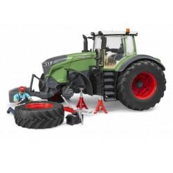 Tracteur miniature FENDT 1050 VARIO MECANICIEN BRUDER