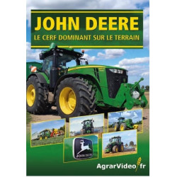 """DVD JOHN DEERE """"Le Cerf dominant"""" CD00395"""