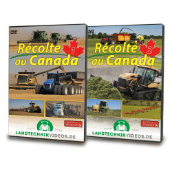 DVD RECOLTE AU CANADA Partie 1 +2 CD00398