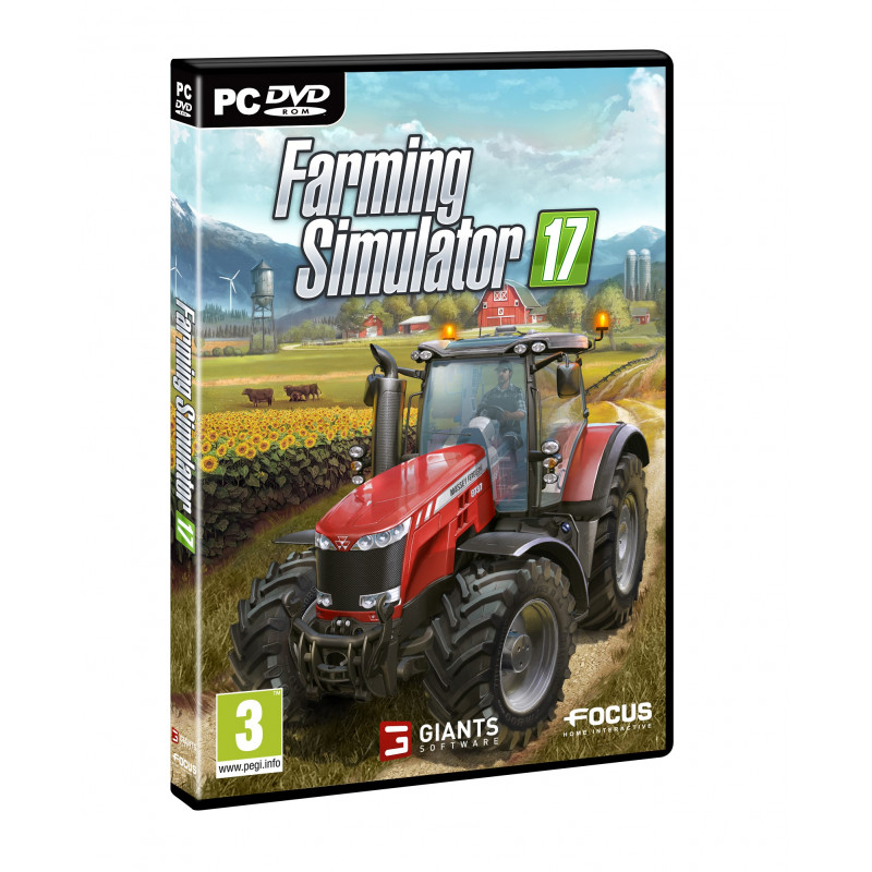 jeu pc farming simulator 2017 cd00400. Black Bedroom Furniture Sets. Home Design Ideas