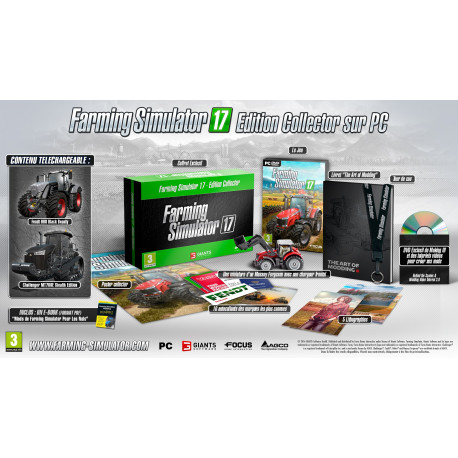COFFRET COLLECTOR JEU PC FARMING SIMULATOR 2017 CD00401