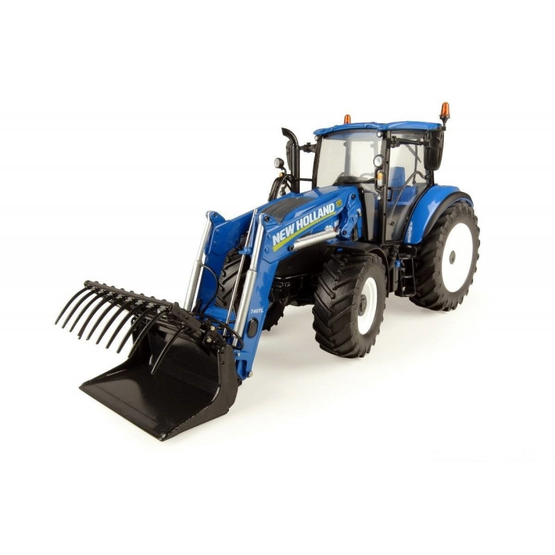 TRACTEUR NEW HOLLAND T5.120 Chargeur 740 TL UH4958 ...