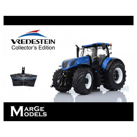 TRACTEUR NEW HOLLAND T7.315 VREDESTEIN M1607 Marge Models 1/32