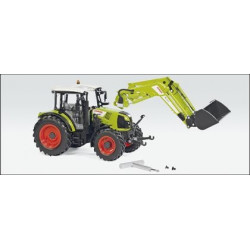 TRACTEUR CLAAS ARION 430  Chargeur FL120 W7829 WIKING 1/32