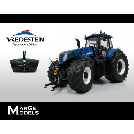 TRACTEUR NEW HOLLAND T8.435 VREDESTEIN M1707 Marge Models 1/32