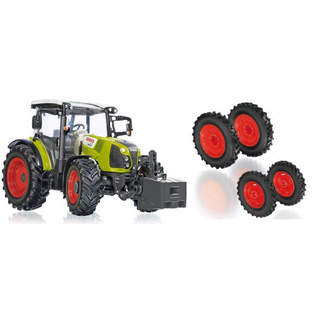 TRACTEUR CLAAS ARION 420 + Roues étroites WIKING 1/32