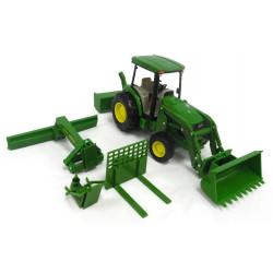Tracteur miniature JOHN DEERE 4066 ACCESSOIRES 46498 BIG FARM 1/16
