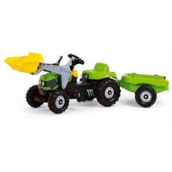TRACTEUR A PEDALE RollyKid DEUTZ 123196 ROLLY TOYS