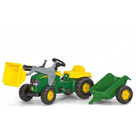 TRACTEUR A PEDALES RollyKid JOHN DEERE 123110 ROLLY TOYS