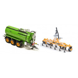 JOSKIN Citerne à lisier Vacu-Cargo 24000 + enfouisseur Terra-Flex ROS 1/32