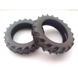Lot de 2 pneus arrières SFV 302 DE043 REPLICAGRI 1/32