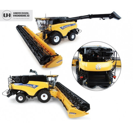MOISSONNEUSE NEW HOLLAND CR10.90 UH4868 UNIVERSAL HOBBIES 1/32