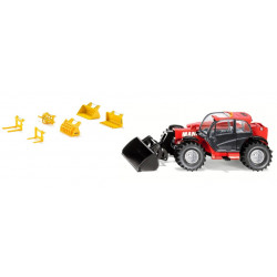 MANITOU MLT 840 + accessoires STOLL 3067-7070 SIKU 1/32