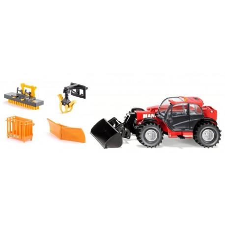 MANITOU MLT 840 + 4 accessoires Bressel & Lade 3067-3661 SIKU 1/32