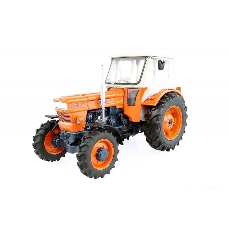 Tracteur fiat 750 dt cabine fritzmeier uh5296 universal hobbies 1 32 - Tracteur ancien miniature ...