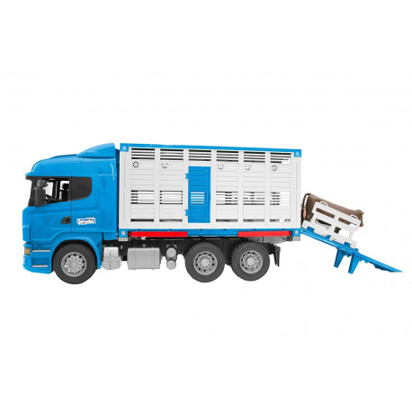 Camion miniature betaillere scania 3549 bruder 1 16 for Interieur camion scania