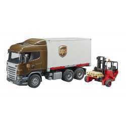 Camion miniature SCANIA UPS 3581 BRUDER