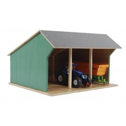 Hangar Matériel petit 610192 Kids Globe Farming 1/32