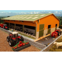 Stabulation 80 logettes BT8960 BRUSHWOOD TOYS 1/32