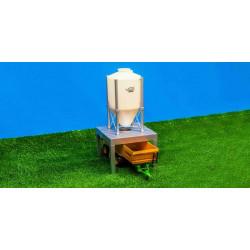 Méga silo alimentation 610062 kids globe farming 1/32