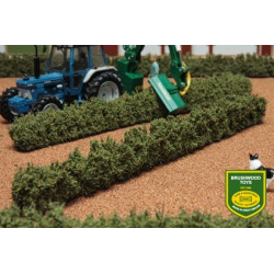 2 haies buisson de 33 cm BT2090 BRUSHWOOD 1/32