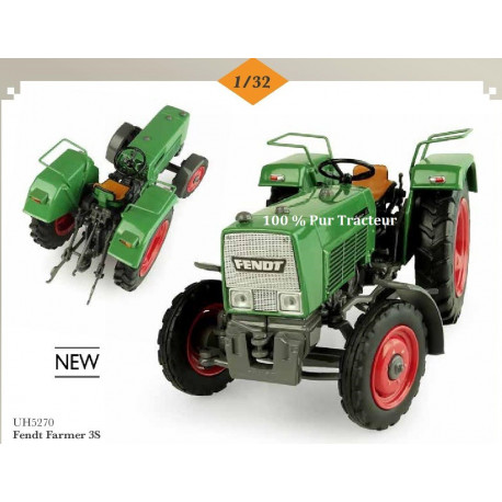 TRACTEUR MINIATURE FENDT FARMER 3S H5270 UH 1/32