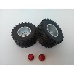 2 roues benne LA CAMPAGNE DE055