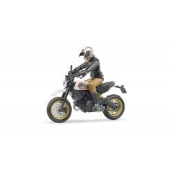 Moto Ducati Desert Sled avec Motard 63051 BRUDER