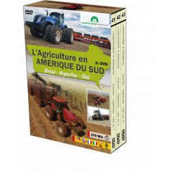 PACK 3 DVD AGRICULTURE EN AMERIQUE du SUD CD00404