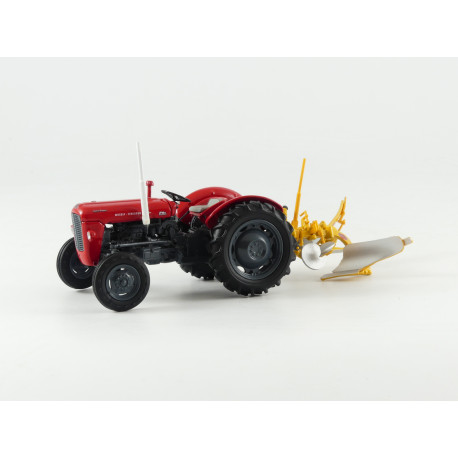 Coffret COLLECTOR MASSEY 35X Charrue H5357 UH 1/32