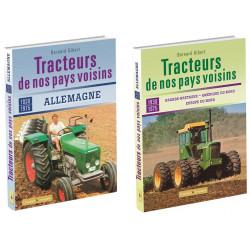 Pack 2 LIVRES Tracteur de nos pays voisin 1935-1970 GB-USA-EU Nord -ALLEMAGNE