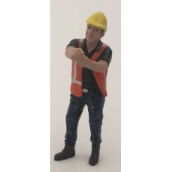Personnage de chantier AT32144 AT-COLLECTION 1/32