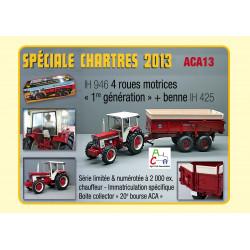 Coffret IH 946 + Benne IH 425 ACA2013 REPLICAGRI 1/32