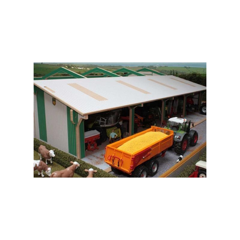Hangar mat riel agricole bteu1 brushwood toys 1 32 - Hangar photovoltaique agricole gratuit ...