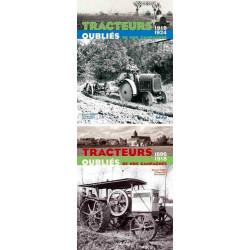 Pack livres Tracteurs oubliés de nos campagne li00290+li00307
