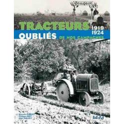 LIVRE TRACTEURS oubliés de nos campagnes 1919-1924 Tome 2 LI00307