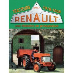 LIVRE RENAULT en prospectus Tome 1 1918-1968 LI00289