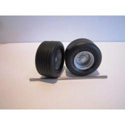 2 roues plateau MAUPU - DE005