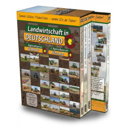 Pack 4 DVD Agriculture en Allemagne CD00360
