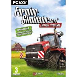 JEU PC FARMING SIMULATOR 2013 TITANIUM CD03701