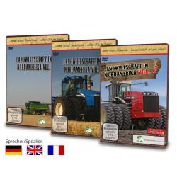 Pack 3 DVD AGRICULTURE EN AMERIQUE DU NORD