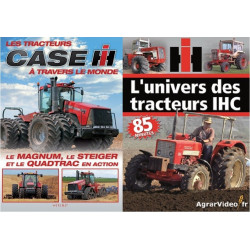 Pack 2 DVD CASE IH