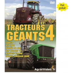 DVD TRACTEURS GEANTS 4 CD00376