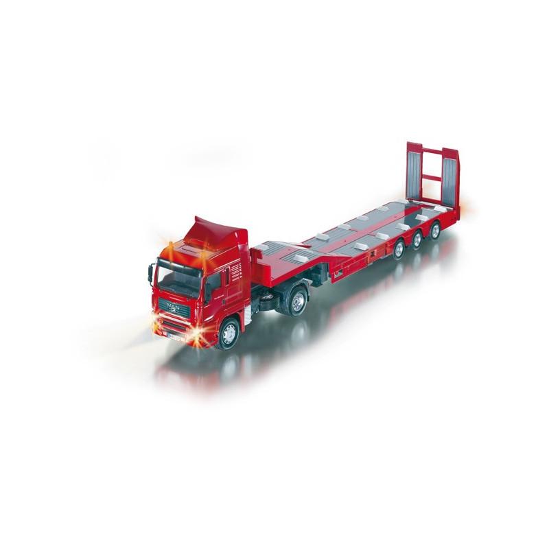 modeles radiocommandes  camion man porte engins radiocommande telecommande siku control