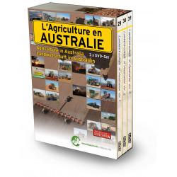 PACK 3 DVD AGRICULTURE EN AUSTRALIE Tome 1-2-3 CD00384
