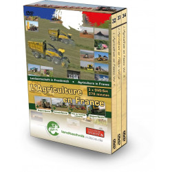 PACK 3 DVD AGRICULTURE EN FRANCE Tome 1-2-3 CD00390