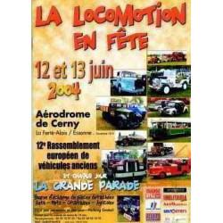 DVD La locomotion en fête 2004