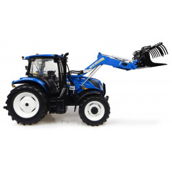 TRACTEUR NEW HOLLAND T6.145 Chargeur H4956 UNIVERSAL HOBBIES 1/32