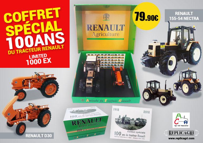 Coffret 100 ans Renault