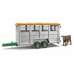 Betaillere miniature + 1 vache BRUDER